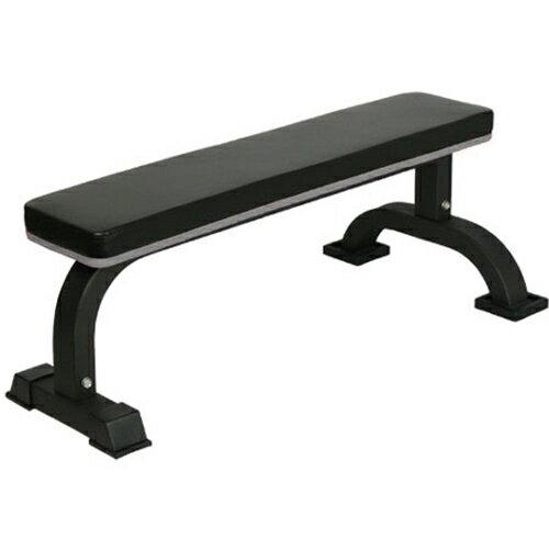 リーディングエッジ フラットベンチ 固定式 高負荷ダンベル バーベルトレーニング用ベンチプレス台 LEFB-005