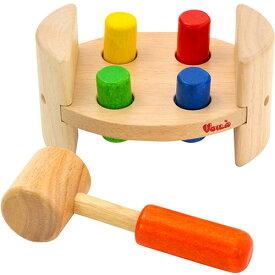ボイラ Voila 木のおもちゃ 大工遊び ハンマーロール S202C