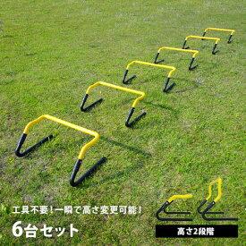 トレーニング ミニハードル 6個セット ESTH-030