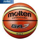 26日9:59迄限定エントリーでポイント5倍★モルテン(molten) GA7 7号球 BGA7 【バスケットボール】