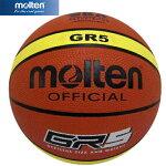 モルテンmoltenジウジアーロラバーバスケットボール5号球BGR5MY