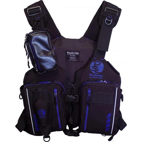 パズデザイン Pazdesign アルティメットV-III ブラックブルー フリーサイズ SLV-025 メンズ レディース