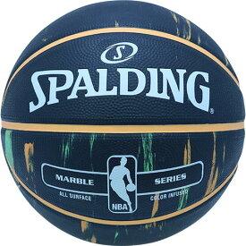 スポルディング SPALDING バスケットボール マーブル 7号 オレンジ×グリーン 83-882Z