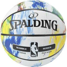 スポルディング SPALDING バスケットボール マーブルコレクション 83ー636Z マルチ