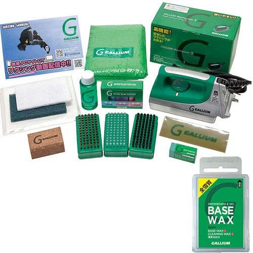 22日10:00-25日9:59迄エントリーでポイント5倍 【送料無料】ガリウム(GALLIUM) Trial Waxing Box(トライアルワクシングボックス) JB0004+SW2132 【チューンナップ用品 ワックスセット】