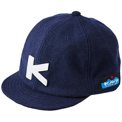 カブー KAVU Base Ball Cap Wool ベースボールキャップ ウール Navy/ネイビー KAVU17FW NVY