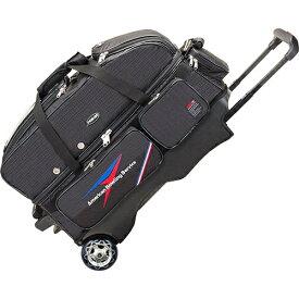 アメリカンボウリングサービス ABS カート Tバッグ 3個入れ ブラック B20-2380