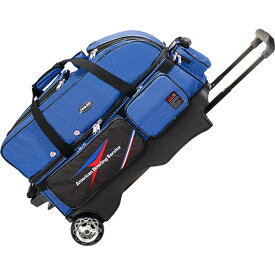 アメリカンボウリングサービス ABS カート Tバッグ 3個入れ ブルー B20-2380