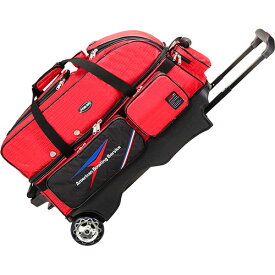 アメリカンボウリングサービス ABS カート Tバッグ 3個入れ レッド B20-2380