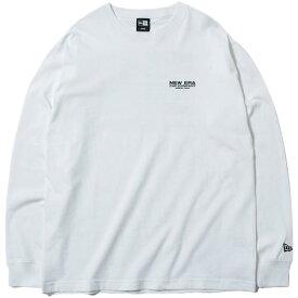 ニューエラ NEW ERA メンズ レディース ロングスリーブ コットン Tシャツ ニューエラ ヒストリー L/S Cotton Tee New Era History ホワイト 12108229