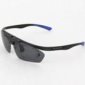 ダンロップ DUNLOP 無料 度付きレンズ付き インナーフレーム サングラス 交換 レンズ 計5枚付 DU-010 フレームカラー:MD.BK/Col.1