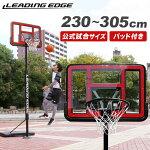 リーディングエッジバスケットボールゴールクリアLE-BS305R