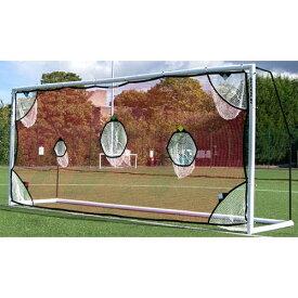 クイックプレイ QUICKPLAY 組み立て式 サッカーゴール MF216用 ターゲットネット 5m×2m 少年サッカー8人制サイズ