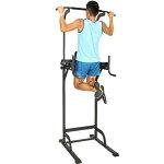 リーディングエッジホームジムST懸垂器具腹筋腕立て運動可能ぶら下がり健康器マルチジムLE-VKR02