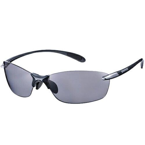 スワンズ SWANS エアレス・リーフフィット 偏光レンズモデル ダークガンメタリック×ライトシルバー SALF-0051 GMR