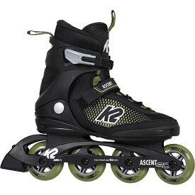 24日迄■お得なクーポン配布中■ケーツー K2 メンズ インラインスケート アセント80 ヨーロッパモデル ASCENT 80 ブラック/グリーン I210203301