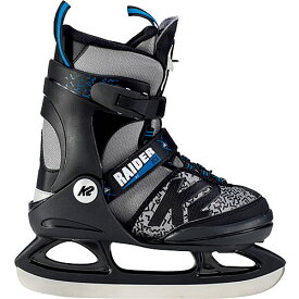 【9日 20時から!最大1,000円OFFクーポン配布】ケーツー K2 ジュニア ボーイズ アイススケート スケート靴 RAIDER ICE グレー/ブラック I180300101 キッズ 男の子