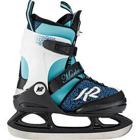 【9日 20時から!最大1,000円OFFクーポン配布】ケーツー K2 ジュニア ガールズ アイススケート スケート靴 MARLEE ICE ブルー/ブラック I180300201 キッズ 女の子