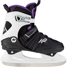 【4日20時〜5日迄!最大3,500円OFFクーポンあり】ケーツー K2 レディース アイススケート スケート靴 ALEXIS ICE ブラック/グレー/ラベンダー I180300401