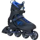 【送料無料】ケーツー(K2) メンズ インラインスケート KINETIC 78 キネティック 78 ブラック/ブルー I160204701 【…