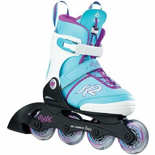 ケーツー K2 ジュニア インラインスケート MARLEE PRO マーリープロ LT_BLUE/ライトブルー I170200401 キッズ