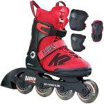 ケーツーK2ジュニアインラインスケートRAIDERPROPACKレイダープロパックプロテクター3点セット付きI170200501キッズ