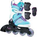 【送料無料】ケーツー(K2) ジュニア インラインスケート MARLEE PRO PACK マーリー プロパック プロテクター3点セッ…