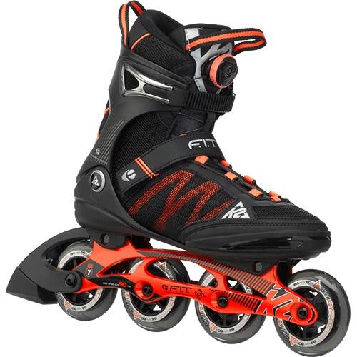 ケーツー K2 F.I.T BOA メンズ インラインスケート ブラック/オレンジ I150201401