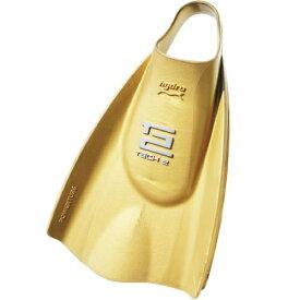 ソルテック Soltec‐swim ハイドロテック2フィン ハードタイプ ゴールド
