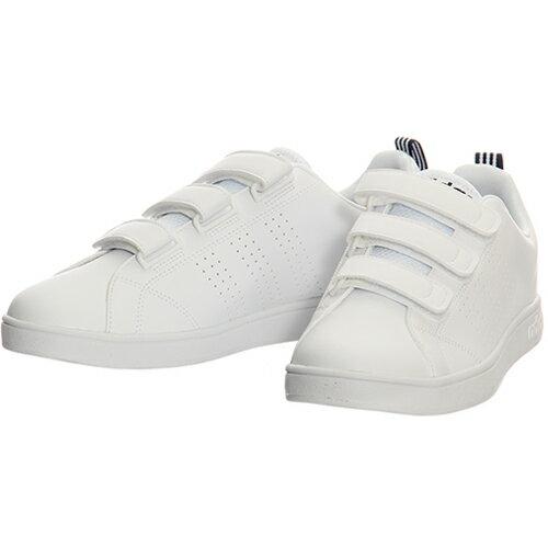 アディダス adidas ネオ NEO バルクリーン2 VALCLEAN2 CMF ベルクロ ホワイト/カレッジネイビー AW5211 メンズ レディース