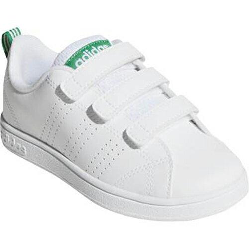 アディダス adidas NEO アディダスネオ キッズスニーカー バルクリーン VALCLEAN2 CMF K ホワイト/グリーン AW4880