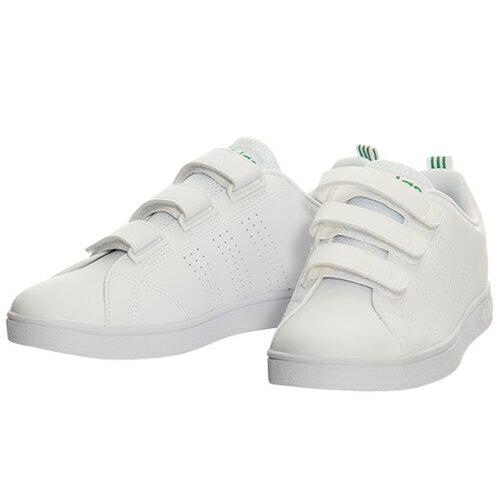 アディダス adidas メンズ レディース ネオ NEO バルクリーン2 VALCLEAN2 CMF ベルクロ ホワイト/グリーン BTZ19 AW5210