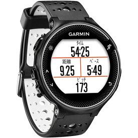 ガーミン GARMIN ランニングウォッチ GPS ForeAthlete 230J フォアアスリート 230J ブラック×ホワイト 日本正規品 010-03717-87