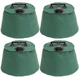 テント タープ用 マルチウエイト 6リットル 4個セット 注水タイプ 屋外用 テントウエイト 重り 錘 おもり 重し