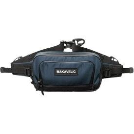 マキャベリック MAKAVELIC ウエストバッグ TRUCKS DA MOVE WAISTBAG ダークネイビー×ブラック 3107-10302