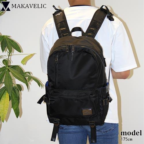 マキャベリック ファンダメンタル デイバッグ リュック MAKAVELIC FUNDAMENTAL ブラック 3107-10101
