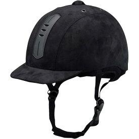 乗馬用 ライディングキャップ ウェンブレープラス ブラック Lサイズ 40926