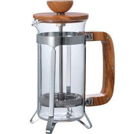 ハリオ HARIO キッチン用品 コーヒーポット カフェプレス オリーブウッド 300ml CPSW-2-OV
