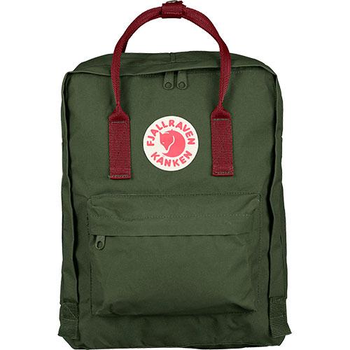 フェールラーベン FJALL RAVEN カンケン バッグ Kanken 660-326-Forest-Green/Ox-Red 23510