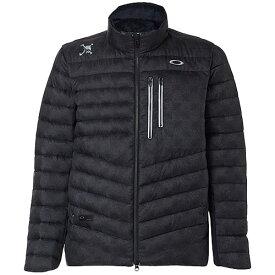 オークリー OAKLEY メンズ ゴルフウェア スカルグレースフルダウンジャケット SKULL GRACEFUL DOWN JACKET ブラックプリント FOA401675-00G