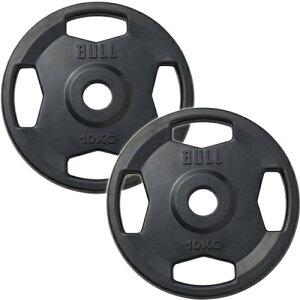 ブル BULL ラバープレート 10kg×2枚セット BL-RP10*2