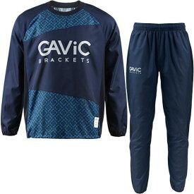 ガビック GAVIC サッカー ウェア 上下セット ジュニア ピステスーツ クロスステッチ BLU/NVY GA1533 キッズ