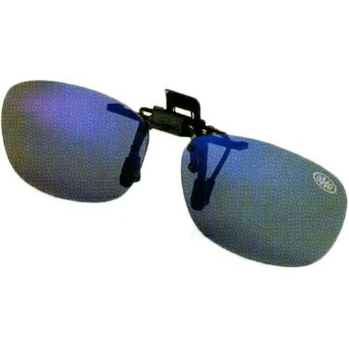 アックス AXE クリップオンサングラス 偏光レンズ BU/ブルーミラー AS-7P