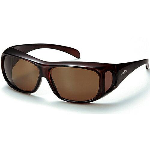 アックス AXE フィットオーバー サングラス 眼鏡の上からサングラス BR/クリスタルブラウン SG-602P