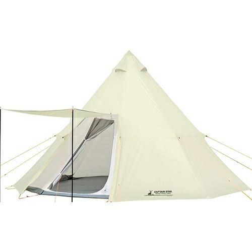キャプテンスタッグ CAPTAINSTAG キャンプ テント CSクラシック ワンポールテント オクタゴン460UV 8人用 UA-35