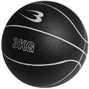 ボディメーカー BODYMAKER メディシンボール 3kg ブラック MBG23