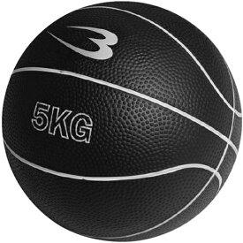 ボディメーカー BODYMAKER メディシンボール 5kg ブラック MBG25