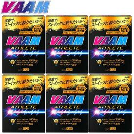 ヴァーム VAAM ヴァームアスリート顆粒 栄養ドリンク風味 10袋入×6箱セット 4.7g/1袋 2650005