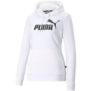 プーマ PUMA レディース パーカー ESS ロゴ フーディースウェット プーマホワイト 588712 02