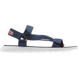 アディダス adidas メンズ レディース コンフォートサンダル Comfort Sandals テックインディゴ/テックインディゴ/シグナルコーラル HJ596 EG6690